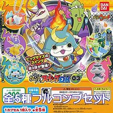 Specter Swing Dx03 Yo-kai Watch Figure Anime Gacha Bandai 5 Pics Full Set