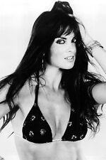 Caroline Munro James Bond Girl Black Bikini Sultry Pose 11x17 Mini Poster