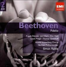 FREE US SHIP. on ANY 2 CDs! NEW CD Simon Rattle: Beethoven: Fidelio