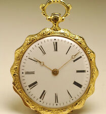 Ancienne montre gousset en OR 18K 1840 vintage SOLID GOLD POCKET WATCH