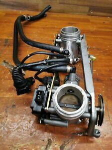 2000 Ducati 748 916 Weber Throttle Body Bodies w Fuel Lines TPS Injectors