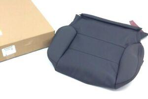 GMC Sierra All Terrain black leather Driver side Seat bottom Cushion Cover OEM