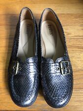 Hotter 9. Women's Leather Sassy Slip-on Shoes-Barely Worn!