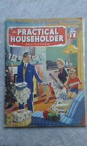 Practical Householder Magazine December 1956 Crafts/Projects, Articles, Adverts