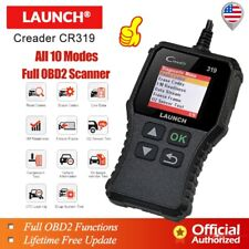 LAUNCH OBD2 OBDII Automotive CAN Car Code Reader Check Engine Scan Tool Scanner