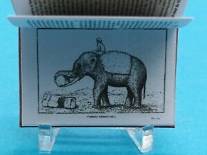 1:12 Scale Book The Ivory King History of the Elephant 1880 crafted by K.B