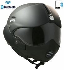 Abierto Casco de MOTO GPA TORNADO Auricular Bluetooth Intercom Radio Móvil L