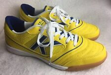 Kelme Indoor Mens Size 11.5 M ( EU 46) Soccer Shoes Yellow Mint - Excellent!