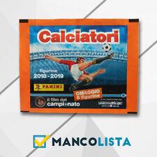 Calciatori Panini 2018 2019  figurine 100 bustine Azzurro 2018//2019 omaggio