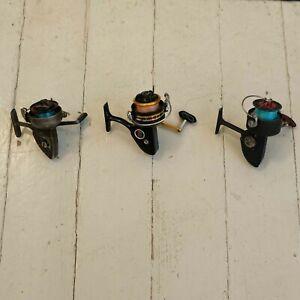 Lot of 3 Vintage Spinning Fishing Reels - Orvis Penn DAM