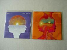 VENUS II job lot of 2 promo CDs Inside Your Sun Hands On Fire