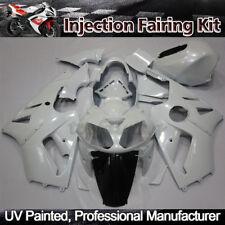 White Fairing Kit for Kawasaki Ninja ZX12R ZX-12R 2002-2005 Injection Bodywork