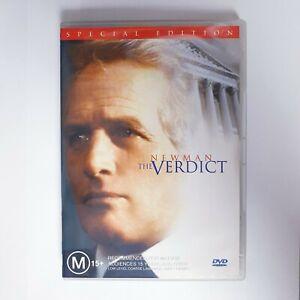 The Verdict Movie DVD Special Edition Region 4 AUS Free Postage - Paul Newman