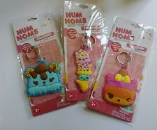 NUM NOMS SCENTED KEYCHAINS, BRAND NEW, LOT OF 3 UNOPENED