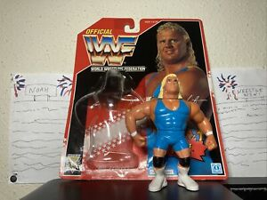 WWF Mr Perfect Hasbro Series 8 1994 100% MINT Card bubble included WWE WCW ECW