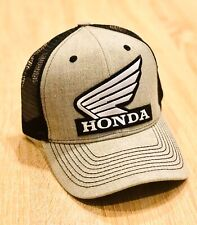 Honda FACTORY RACING HAT CAP BMX BIKE TRUCKER BK BRAND GRAY MX YZF YFZ RI R6