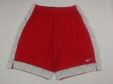 Nike / M Women Mesh Training Basketball Shorts red 274426