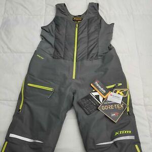 Klim Allure Snow Bib Women's 2XL Reg. Gray  3376-005-160-600 NEW Retail $349.99