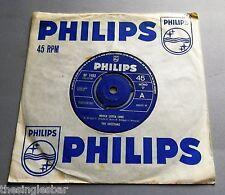 "The Cheetahs - Whole Lotta Love UK 1965 Philips 7"" Single 'Sample' stamp"