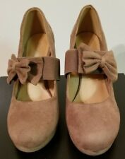 * Taupe Suede Wedge Shoe (WMN 7) by Forever * Style: Tarah NEW!!