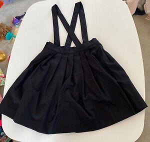 New 10T Bonpoint Black Jumper Dress Skirt Super cute Luxury Design Retails $285