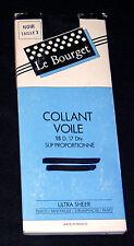 """COLLANT T 3 NYLON VOILE 15 D FRANCE """"LE BOURGET"""" COLORIS NOIR SEXY MODE QUALITE"""