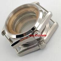 41mm watch case fit ETA 2836 mingzhu/DG 2813/3804 miyota 8205/8215/821A Movement
