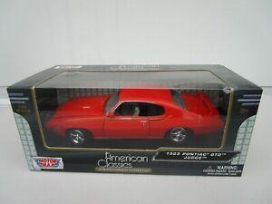 Motor Max 1:24 Scale 1969 Pontiac GTO Judge in Box