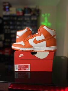 Nike Dunk High Syracuse Orange White 2021 Size 10.5 DD1399-101 *Ships Today*