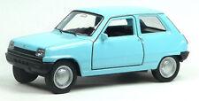 NEU: Renault R5 Klassiker Modellauto Spritzguss ca. 11cm hellblau von WELLY
