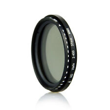 37mm Neutral Density Variable Fader NDX Filter ND2 to ND400