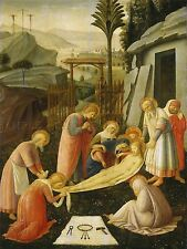 FRA ANGELICO ITALIAN ENTOMBMENT CHRIST OLD ART PAINTING POSTER PRINT BB4949A