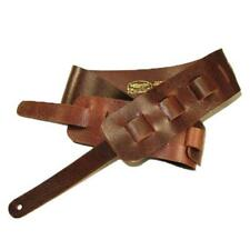 Guitar Strap Full Grain Cowhide - Mahogany