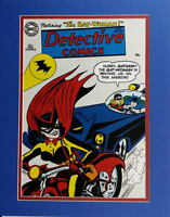 DETECTIVE COMICS #233 COVER PRINT Professionally Matted DC 1st Batwoman
