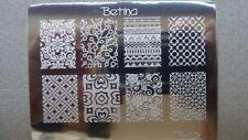 Plaque stamping BETINA B02