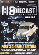 1:18 Diecast Downunder #10 Biante Classic Aircraft Mercedes Ford Holden Ferrari