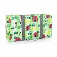 Thirty One LARGE UTILITY tote Bag organizer laundry 31 gift Farm Fun new retire