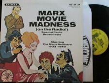 Marx Movie Madness (On The Radio) ~ The Marx Brothers ~ Vinyl Lp Usa Pressing