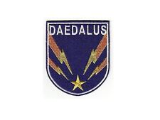 Stargate Atlantis Ecusson + scratch vaisseau Dedale Daedalus patch hook & loop