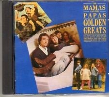 (BD551) The Mamas & The Papas, Golden Greats - 1986 CD