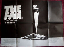 Cinema Poster: FAN, THE 1981 (Quad) Lauren Bacall James Garner Michael Biehn