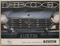 AUSTIN 1800 & 1800 S Mk II Sales Brochure c1968 #2759