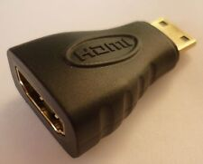 HDMI Adapter Kompaktadapter Verbindungsadapter 19pol HDMI-BU 19pol mini HDMI-ST