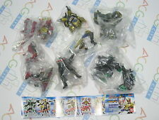 Masked Kamen Rider Blade Action Pose Figure 4 Gashapon Full Set Bandai Japan