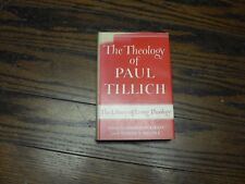 1952 The Theology of Paul Tillich Vol 1 by Charles W. Kegley Hardcover