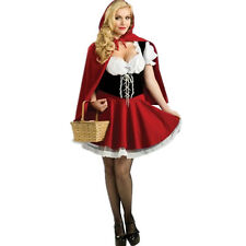 Little Red Riding Hood Halloween Costume Cute Sexy Wolf Fairy Tale New Adult