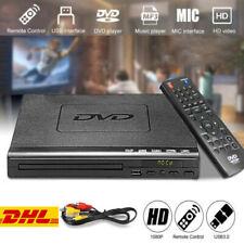CD DVD UHD Spieler mit USB AV Anschluss+Wireless Fernbedienung für TV Player NEU