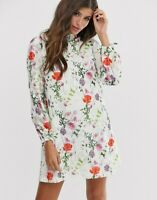 Ted Baker Imane tunic dress hedgerow print RRP £179 Size 3 UK 12 Floral