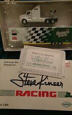 1996 GMP 1/64 Steve Kinser Quaker State hauler tractor trailer MIB Sprint Car 11