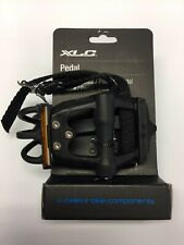 "XLC Cycle Bike Cycle Road Pedals And Toe Straps, 9/16"". PD-R01. 2501821800"